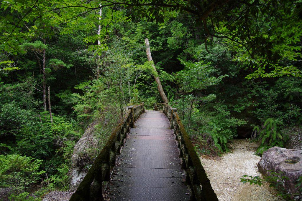 三ツ瀬明神山 橋