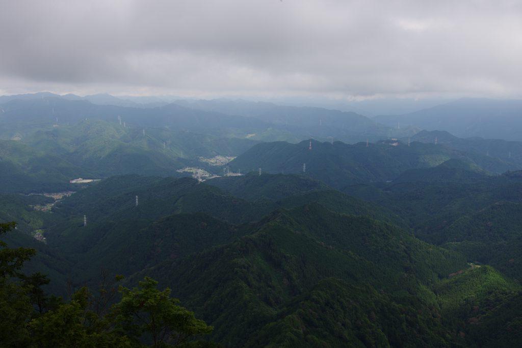 三ツ瀬明神山山頂