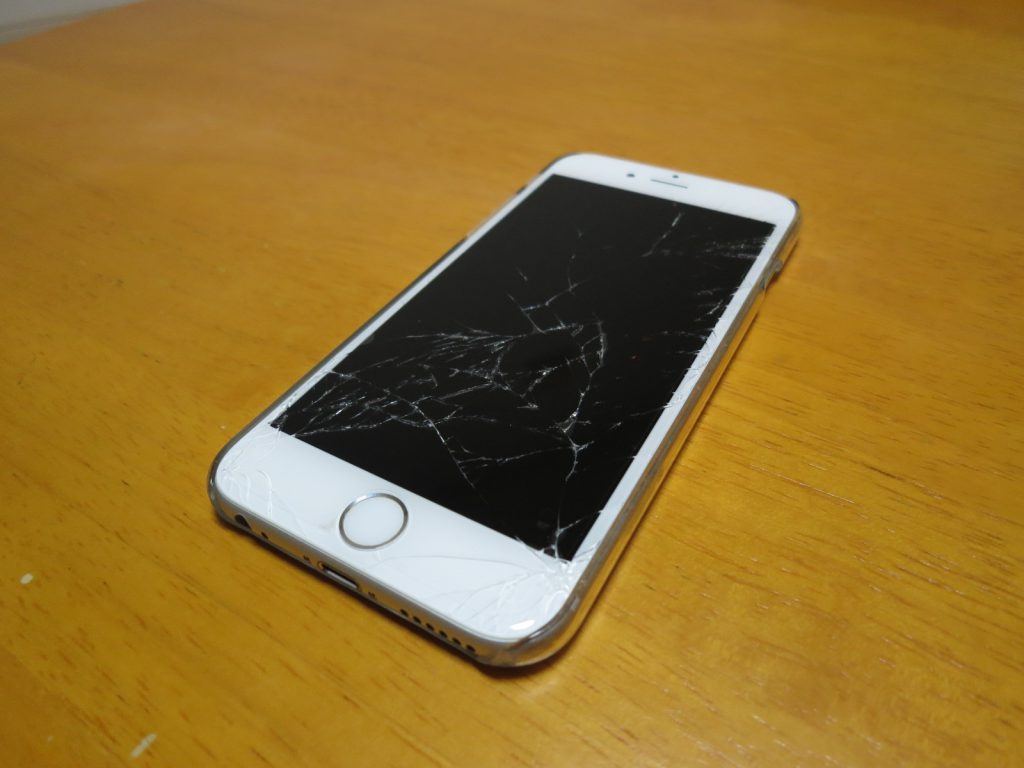 iPhone6S 画面ガラス割れ