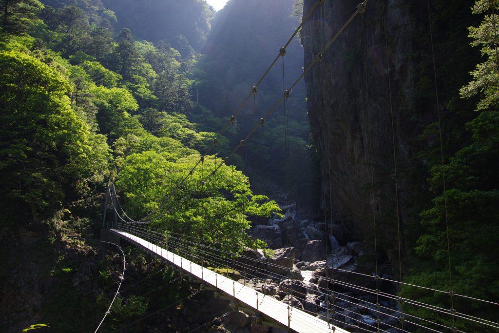 大杉谷_平等嵓吊橋